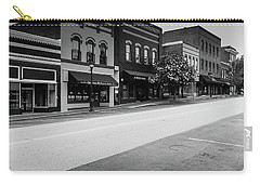 Carry-all Pouch featuring the photograph Historic Buford Downtown Area by Doug Camara