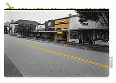 Carry-all Pouch featuring the photograph Historic Buford In Selective Color by Doug Camara