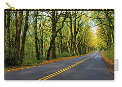 Historic Columbia River Highway In Fall Carry-all Pouch