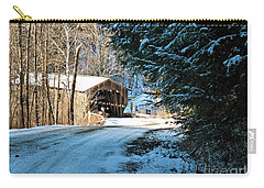 Historic Grist Mill Covered Bridge Carry-all Pouch