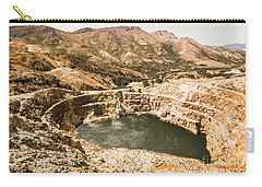 Historic Iron Ore Mine Carry-all Pouch