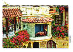 Historic Mission Inn Clock Carry-all Pouch