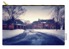 Carry-all Pouch featuring the photograph Historic Neenah Home by Joel Witmeyer