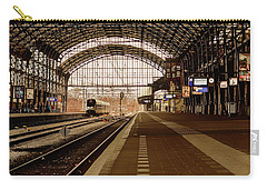 Historic Railway Station In Haarlem The Netherland Carry-all Pouch