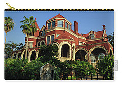 Carry-all Pouch featuring the photograph Historical Galveston Mansion by Tikvah's Hope