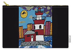 Historical Michigan Lighthouse Carry-all Pouch