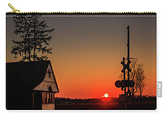 Historical Train Depot In Wayne Illinois Carry-all Pouch