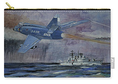 Hms Sheffield Carry-all Pouch by Ray Agius