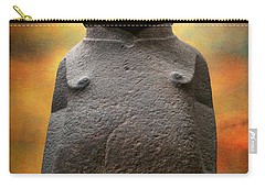 Carry-all Pouch featuring the photograph Hoa Hakananaia by Adrian Evans