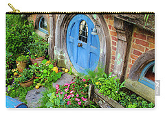 Hobbit Cottage And Garden Carry-all Pouch