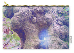 Carry-all Pouch featuring the photograph Hobbit House by Jean OKeeffe Macro Abundance Art