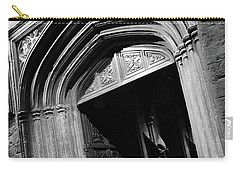 Carry-all Pouch featuring the mixed media Hogwards Door  by Gina Dsgn