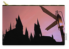 Carry-all Pouch featuring the photograph Hogwarts Castle ... by Juergen Weiss