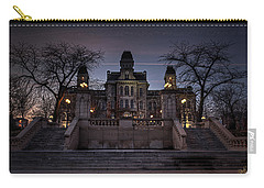 Hogwarts - Hall Of Languages Carry-all Pouch by Everet Regal