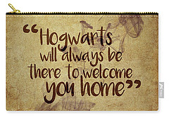 Hogwarts Is Home Carry-all Pouch