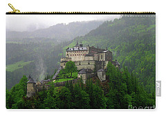Hohenwerfen Castle Carry-all Pouch by Sheila Ping