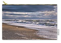 Carry-all Pouch featuring the photograph Hokitika Beach New Zealand IIi by Steven Ralser