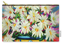 Hola Daisies Carry-all Pouch