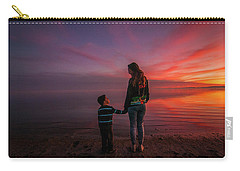 Hold My Hand Little Brother Carry-all Pouch by Ralph Vazquez