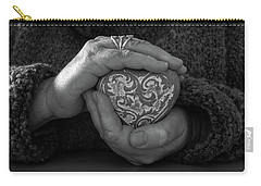 Holding My Heart In My Hands Carry-all Pouch