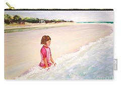 Holding The Ocean Carry-all Pouch by Patricia Piffath
