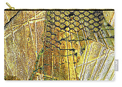 Carry-all Pouch featuring the mixed media Hole In The Wall by Tony Rubino