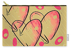 Hole Lotta Love - Neon Pink Edition Carry-all Pouch by Jason Nicholas