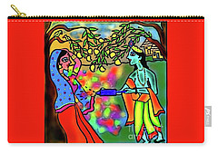 Holi Carry-all Pouch by Latha Gokuldas Panicker