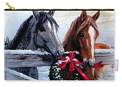 Holiday Barnyard Carry-all Pouch