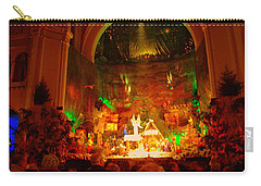 Holiday Decor In The Basilica Carry-all Pouch
