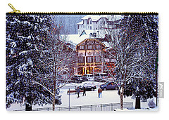 Holiday In The Village Carry-all Pouch