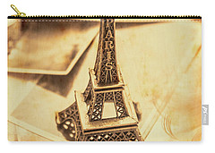 Holiday Nostalgia In Vintage France Carry-all Pouch by Jorgo Photography - Wall Art Gallery
