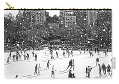 Holiday Skaters Carry-all Pouch
