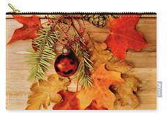 Carry-all Pouch featuring the photograph Holidays by Rebecca Cozart
