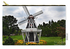 Holland Grey Windmill  Carry-all Pouch