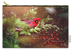 Holly Berrries Carry-all Pouch