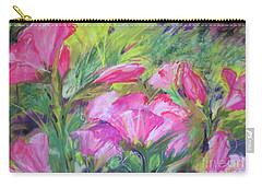 Hollyhock Breeze Carry-all Pouch