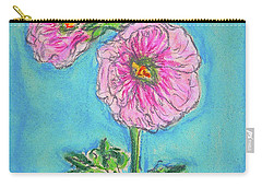 Hollyhock Carry-all Pouch by Gerhardt Isringhaus
