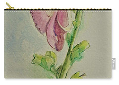 Hollyhock The Harbinger Of Summer Carry-all Pouch