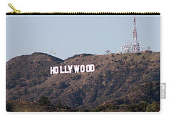 Hollywood And Helicopters Carry-all Pouch