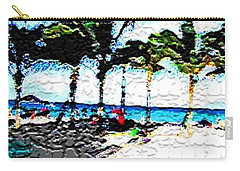 Hollywood Beach Fla Digital Carry-all Pouch