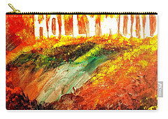 Hollywood Burning Carry-all Pouch