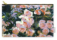 Hollywood Cottage Garden Roses Carry-all Pouch
