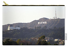 Hollywood Hills And Griffith Observatory Carry-all Pouch