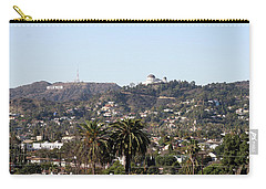 Hollywood Hills From Sunset Blvd Carry-all Pouch