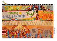 Hollywood Parade Carry-all Pouch by Rodger Ellingson