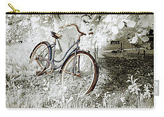 Carry-all Pouch featuring the photograph Hollywood Schwinn II by Craig J Satterlee