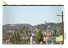 Hollywood Sign Above Sunset Blvd. Carry-all Pouch