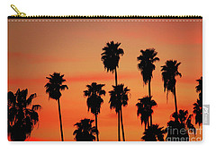 Hollywood Sunset Carry-all Pouch by Mariola Bitner