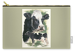 Holstein Carry-all Pouch by Barbara Keith